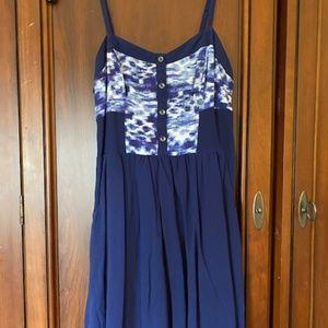 Express Women's Navy Sundress